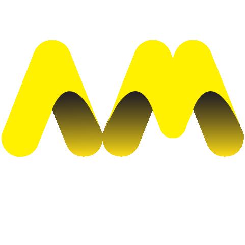 azam motor logo white